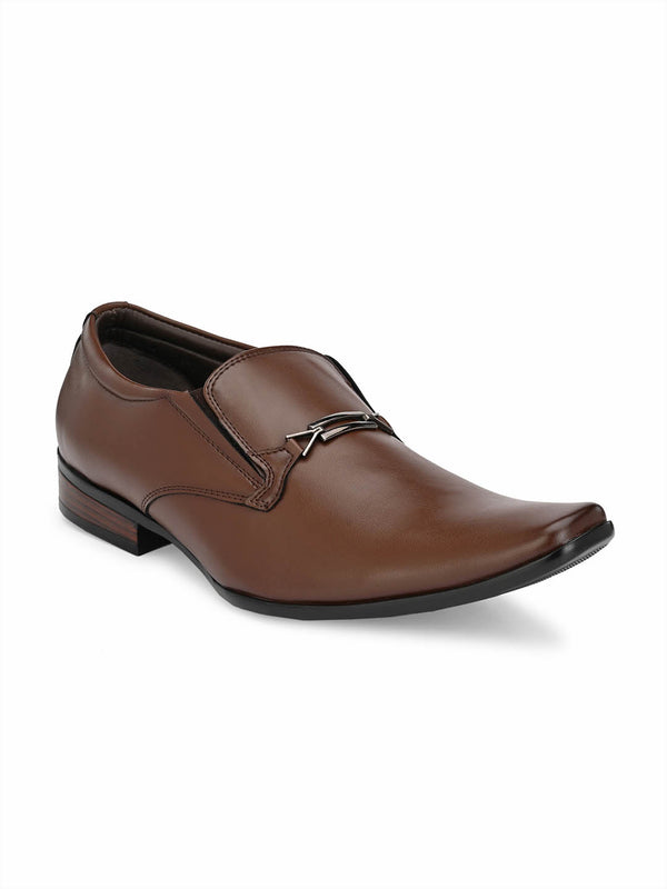 Mslp - 8914 Brown Formal Shoes
