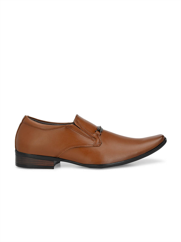 Mslp - 8914 Tan Formal Shoes