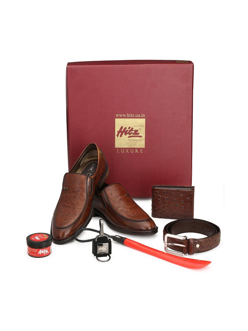 Hitz Shoes & Accessories Combo for Men