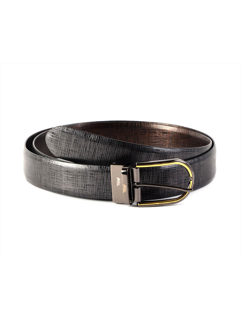 Rb 5094 Matrix Blk/Brn Leather Belts