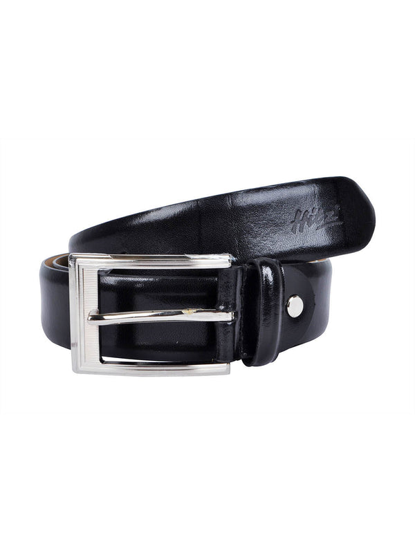 Rb Toledo Black Leather Belts