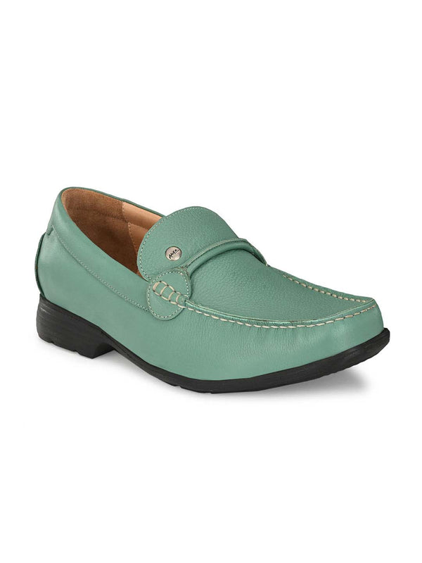 Alfiedel - Rt 1 Green Leather Shoes