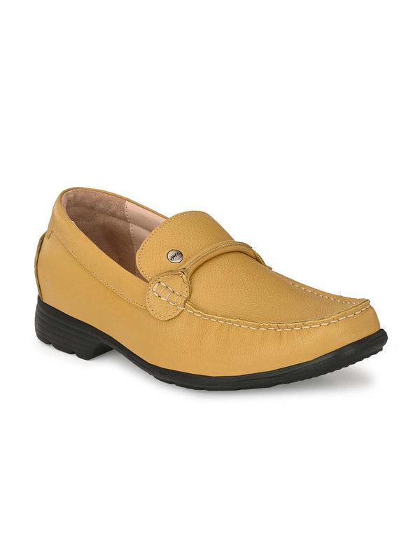 Alfiedel - Rt 1 Yellow Leather Shoes
