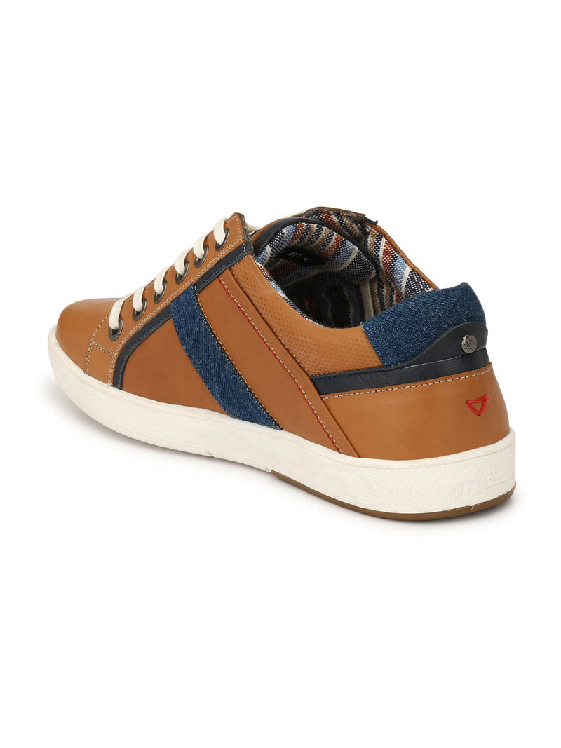Sneakers Hitz Casual Tan Leather