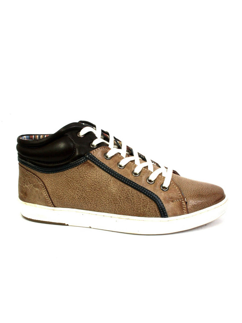 Sneakers - Sn 5 Brown + Coco + Blue Leather Shoes