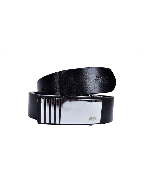 St 25 Black Leather Belts