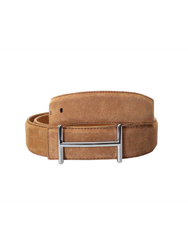 Suede Tan Leather Belts