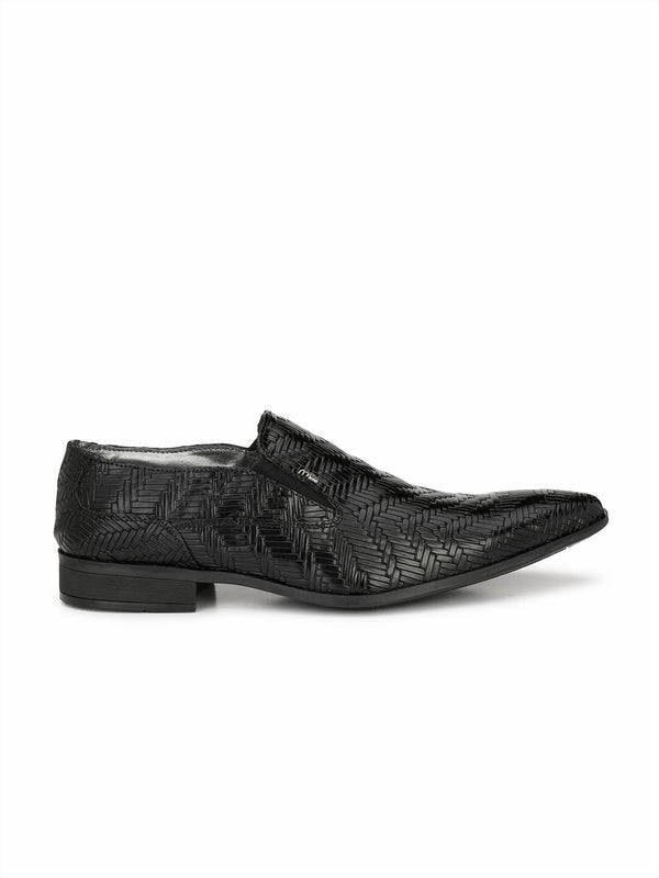 Philipy - T 17 Black Leather Shoes