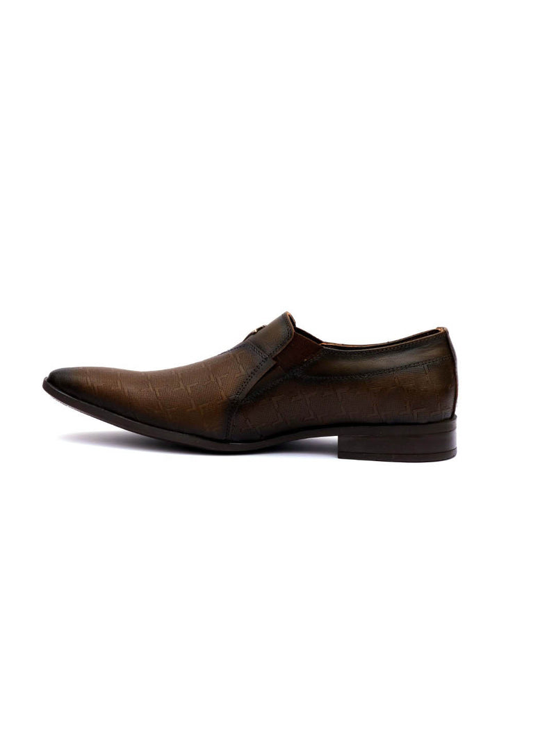 Philipy - T 21 Brown Leather Shoes