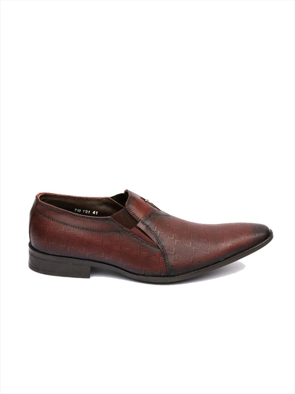 Formal cum Casual Cherry Leather Shoes Men