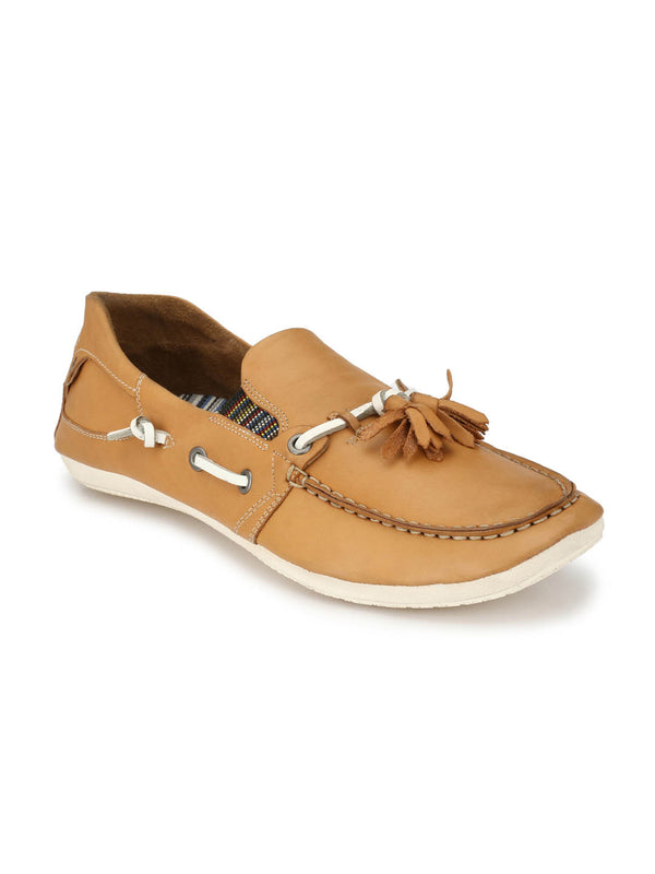Twisted - Ts 1 Camel Leather Loafers