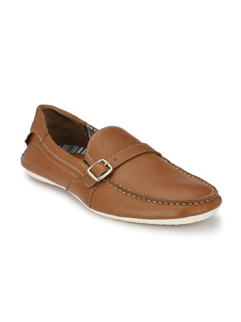 Twisted - Ts 3 Tan Leather Loafers