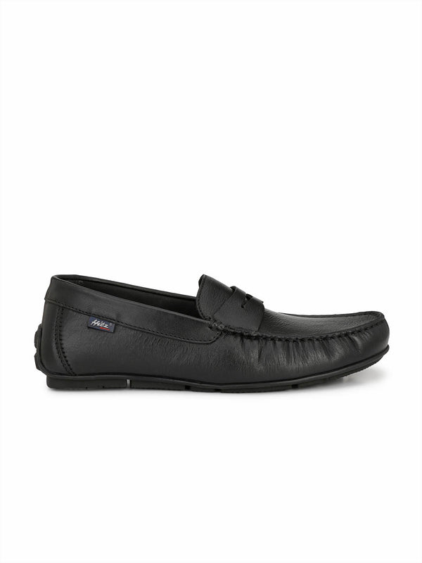 Wilson - W 1 Black Leather Loafers