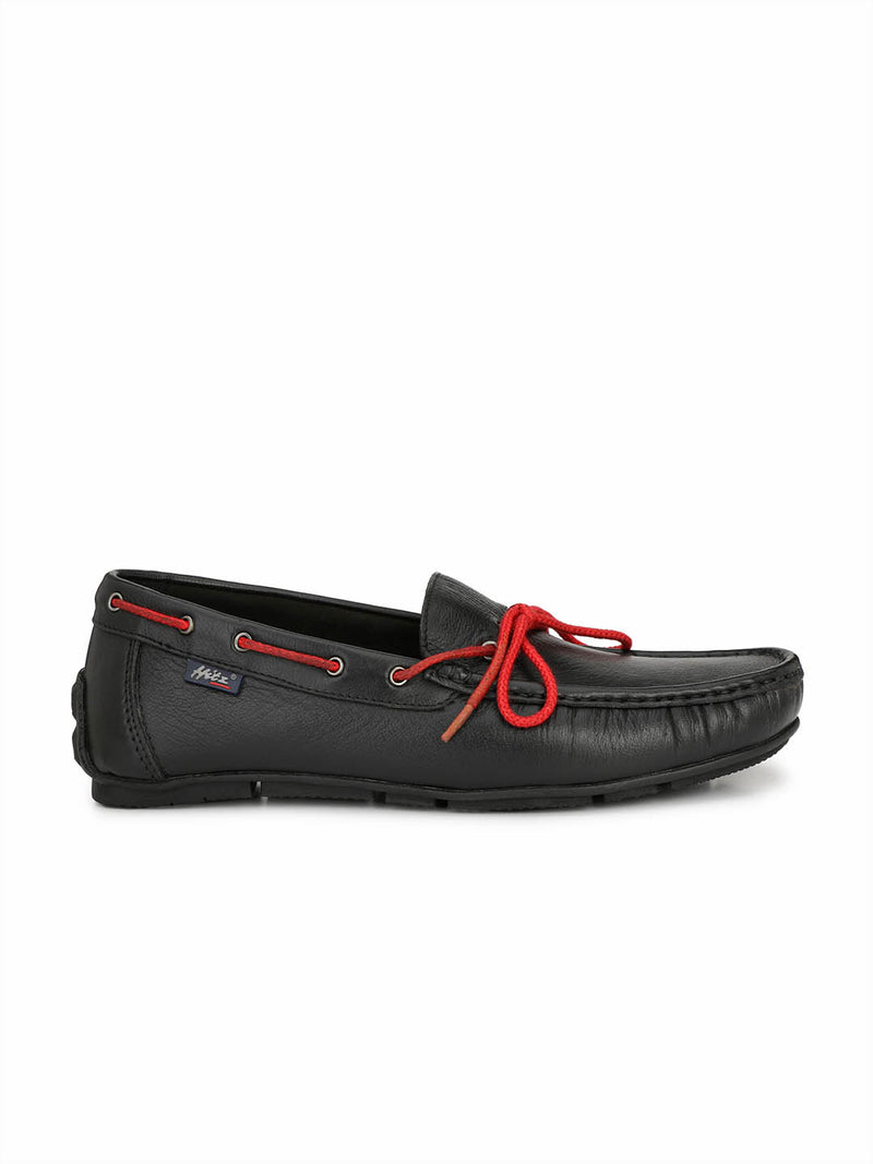 Wilson - W 10 Black Leather Loafers
