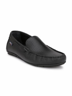 Hitz Men's Comfort Leather Loafers