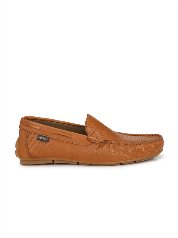 Wilson - W 2 Tan Leather Loafers