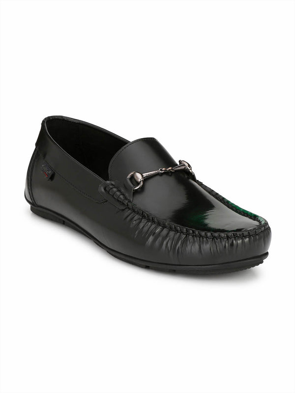 Hitz Men's Patent Leather Party Loafers