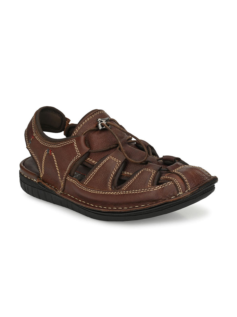 HITZ Kodiak Tan Sandals For Men