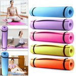 Load image into Gallery viewer, 1830*610*6/4mm EVA Yoga Mat Non Slip Carpet Pilates Gym Sports Exercise Pads for Beginner Fitness Environmental Gymnastics Mats