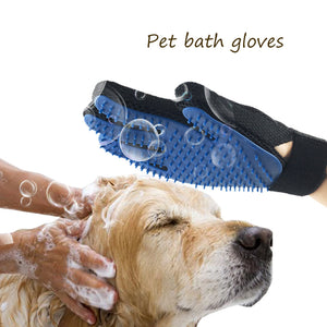 Pet Dog Cleaning Gloves Cat Dogs Bathing Massage Gloves Beauty Shower Gloves Cat Hair Grooming Dog Accessories Pet Supplies