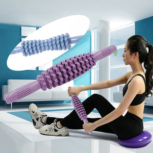 Yoga Block Pilates Foam Roller Multi-Purpose Massage Roller Muscle Tissue for Fitness Gym Yoga Pilates Sports