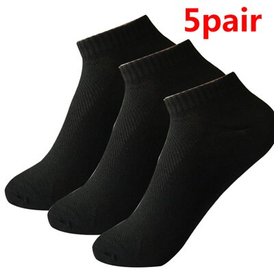10pcs=5pair Mesh Breathable Solid Color Socks Women's Female Short Low Cut Ankle Socks Thin Summer Socks Calcetines Mujer Meias