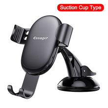 Load image into Gallery viewer, Essager Gravity Car Phone Holder For iPhone Samsung Universal Mount Holder For Phone in Car Cell Mobile Phone Holder Stand