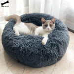 Load image into Gallery viewer, Pet Dog Bed Comfortable Donut Cuddler Round Dog Kennel Ultra Soft Washable Dog and Cat Cushion Bed Winter Warm Sofa hot sell2810
