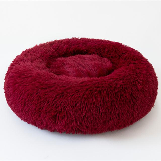 Pet Dog Bed Comfortable Donut Cuddler Round Dog Kennel Ultra Soft Washable Dog and Cat Cushion Bed Winter Warm Sofa hot sell2810