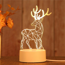 Load image into Gallery viewer, 3D LED Lamp Creative 3D LED Night Lights Novelty Illusion Night Lamp 3D Illusion Table Lamp For Home Decorative Light