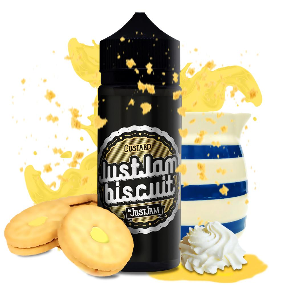 Just Jam - Biscuit Custard 100ml - The Ace Of Vapez