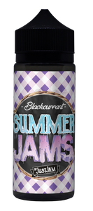 Just Jam - Summer Jams Blackcurrant 100ml - The Ace Of Vapez