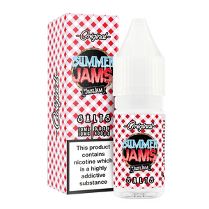 Just Jam - Summer Jam Original 10ml Nic Salt - The Ace Of Vapez