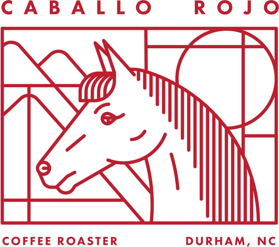 Caballo Rojo 12oz Whole Beans