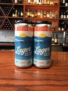 "NoDa Brewing Company - ""Lager Days"" American Lager - 4pk"