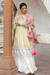 Zara Shahjahan Luxury Lawn Embroidered Unstitched 3 Piece Suit Collection ZSJ20-JEHANARA-A