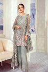 iznik Imperial Dreams Chiffon Embroidered Unstitched 3 Piece Suit Collection ICC20-09