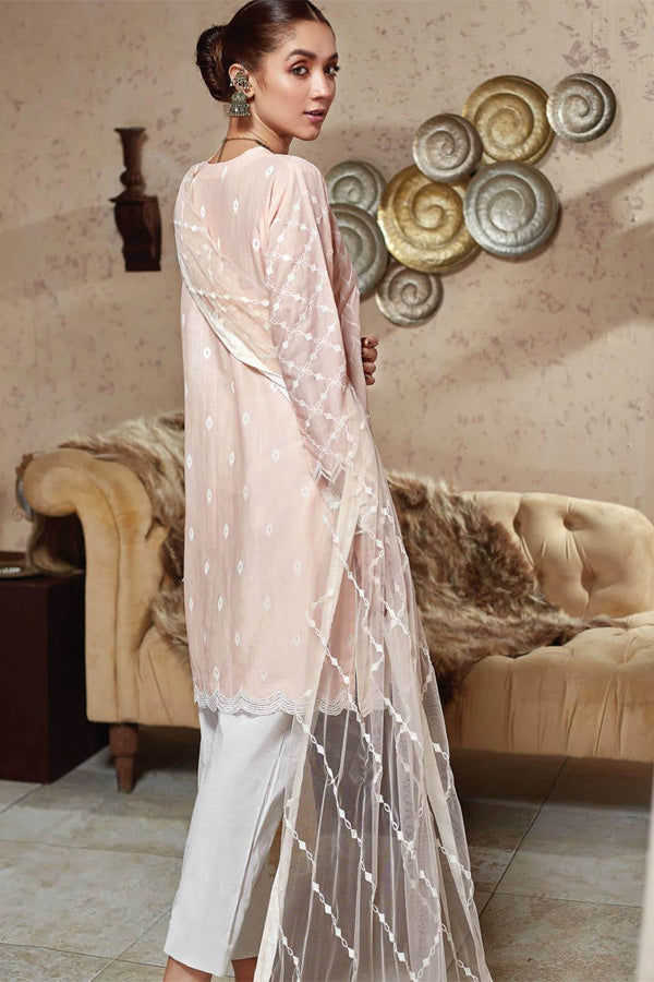 Resham Ghar Closet Luxury Embroidered Unstitched 3 Piece Suit Collection REC20-07