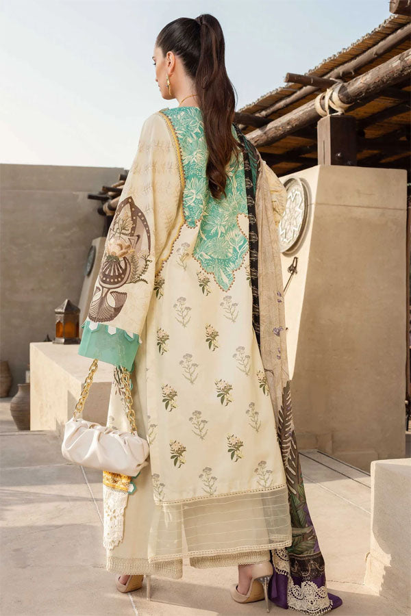 Rang Rasiya Florence Luxe Summer Embroidered Unstitched 3 Piece Suit collection RAS21-14 ALMANIA
