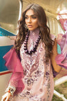 Mushq Hemline Spring Summer Embroidered Unstitched 3 Piece Suit collection Mhl21-13 FRAGRANT LILAC