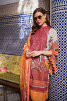 Sobia Nazir Luxury Lawn Embroidered Unstitched 3 Piece Suit Collection SNL20-14B