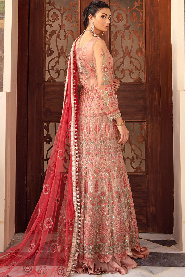 Iznik Falaknuma Formal's Wedding Embroidered Unstitched 3 Piece Suit Collection IFW20-03