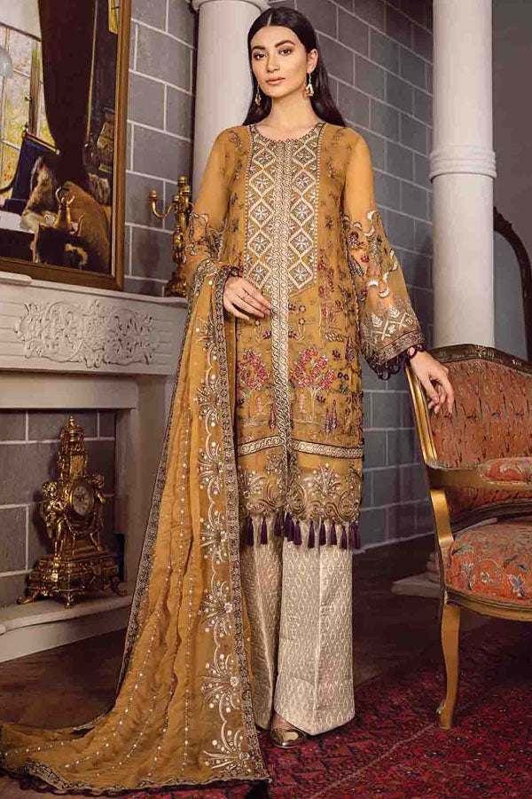 Xenia Rohtas Formal Wedding Edition Vol-2 Embroidered Unstitched 3 Piece Suit Collection XWC20-05