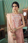 Cross Stitch Luxury Lawn Embroidered Unstitched 3 Piece Suit Collection CSL21- PINK MUSE