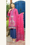 Glamza Chikankari Lawn Embroidered Unstitched 3 Piece Suit Collection GCL21-201