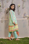 LSM Lakhany Komal printed Unstitched 3 Piece Suit collection LKP21-01-B