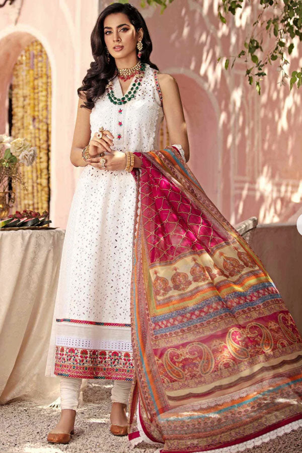 Rang Rasiya Florence Luxe Summer Embroidered Unstitched 3 Piece Suit collection RAS21-7 VERONA