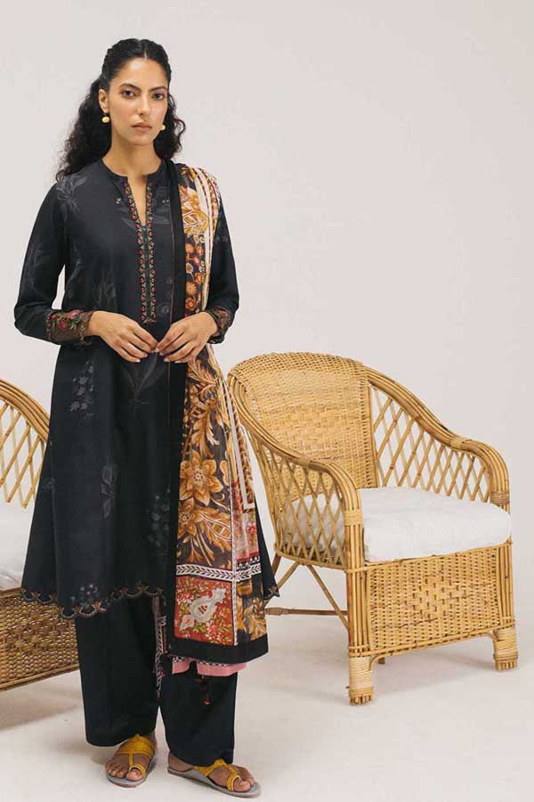 Coco by Zara Shahjahan Embroidered Lawn Unstitched 3 Piece Suit Spring Summer Collection COC20-4B