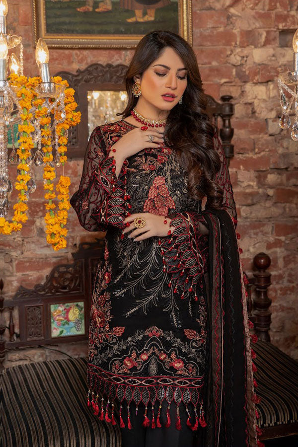 Maryam's Premium Luxury Embroidered Vol:05 Unstitched 3 Piece Suit Collection MPC20-153