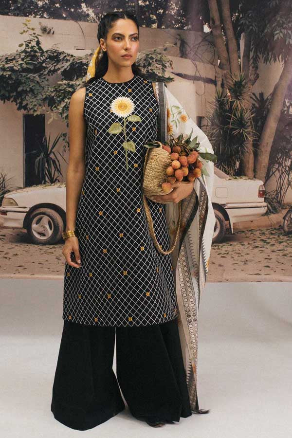 Coco by Zara Shahjahan Embroidered Lawn Unstitched 3 Piece Suit Spring Summer Collection COC20-8B